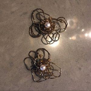 Vintage earclip/cuff, designer earrings🔥